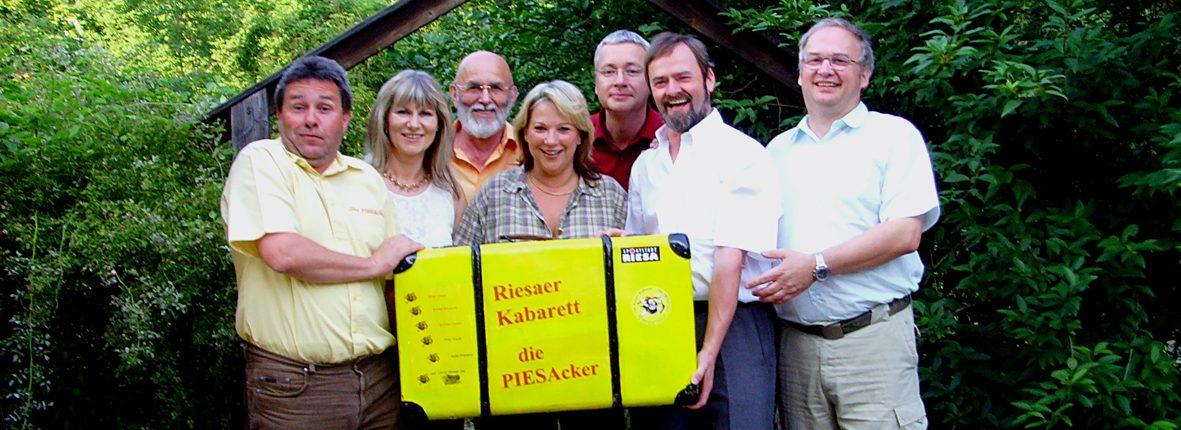Willkommen beim Riesaer Kabarett die PIESAcker